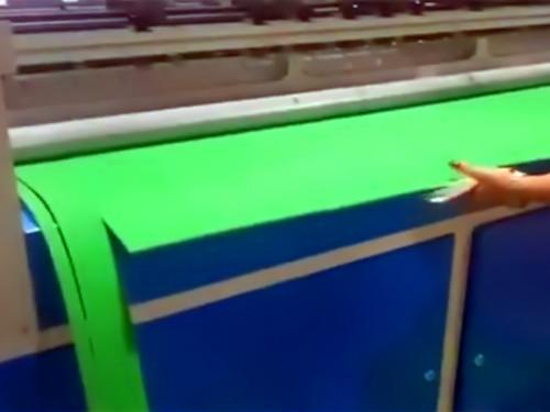 泡棉EVA横竖分切机